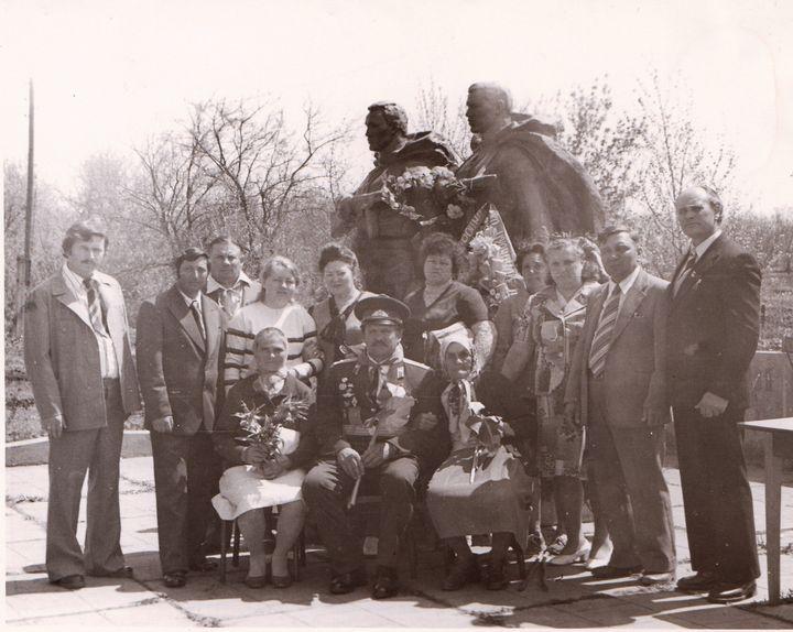 Встреча через много лет в селе Захаровка.