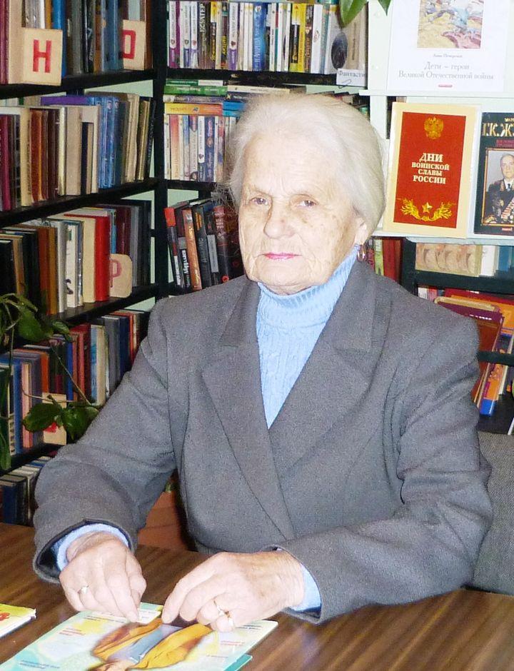 Нина Дмитриевна Пудова.